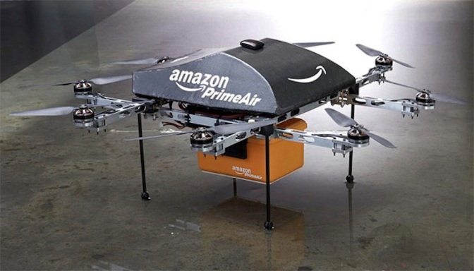 Amazon Prime Air drones unveiled, to deliver items under half an hour